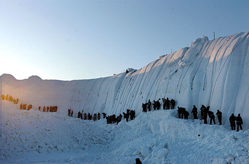 The 19th Harbin Sun Island Snow Suculpture Artistic Show