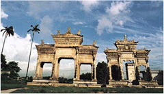 The Memorial Archways of Meixi