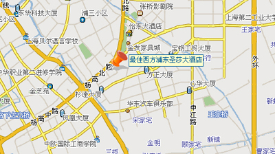 Pudong Hotels Map Pudong Sunshine Hotel Map