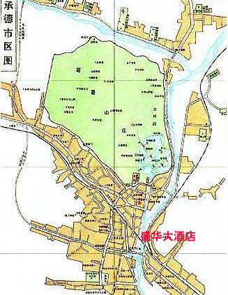 Chengde Shenghua Hotel Hotel In Chengde China - Chengde map