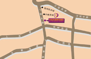 City Inn Bandao, Wenzhou Map