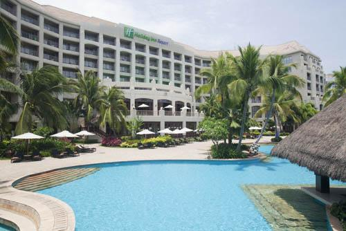 HOLIDAY INN RESORT SANYA BAY - Prices & Hotel Reviews ...   Sanya Holiday Inn Resort Logo