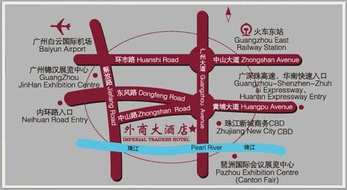Guangzhou Hotels Map Hotel Guangzhou Map