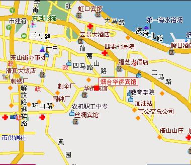 Celebrity City Hotel YanTai Hotel In Yantai China - Yantai map