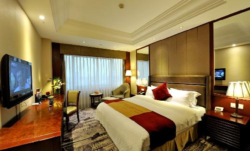 Business Big Bed Room, Yindu Hotel, Yiwu