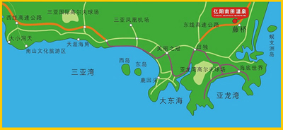 Yiyang Nantian Hot Spring Resort Hotel Map