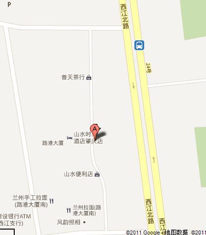 Shangshui Boutique Hotel Zhaoqing Hotel In Zhaoqing China - Zhaoqing map